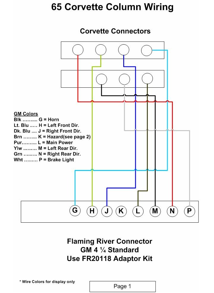 Steering_Column_Wiring_1 corvette miscellaneous help flaming river battery disconnect wiring diagram at n-0.co